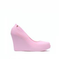 Dámské růžové sandály na klínku Debora 0023