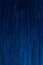 CLIP IN - spona 50 cm modrá