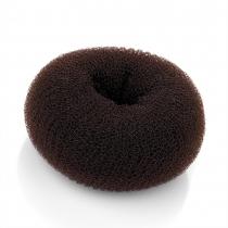 Vlasový donut 9 cm 27244 hnědý