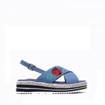 Dámské modré sandály Steffi 2082