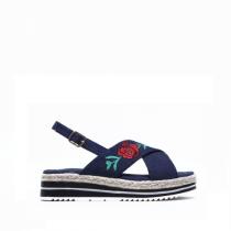 Dámské tmavě modré sandály Steffi 2082