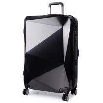 Dámský střední černý kufr na kolečkách Reise 6671