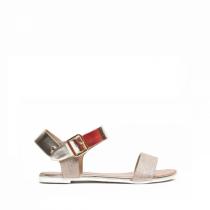 Dámské zlaté sandály Foestra 2077