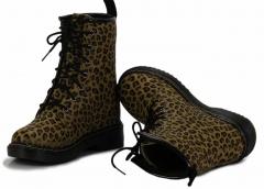 Dámské kozačky 112 Brown leopard