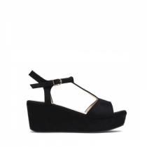 Dámské černé sandály na platformě Antonia 2079