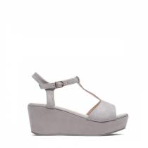 Dámské šedé sandály na platformě Antonia 2079
