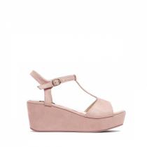 Dámské růžové sandály na platformě Antonia 2079