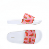 Dámské růžové pantofle Casaba 106