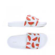 Dámské bílé pantofle Casaba 106