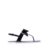 Dámské černé sandály Norah 6130