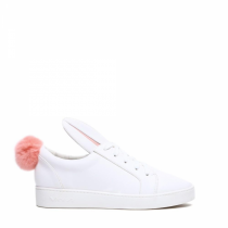 Dámské bílé tenisky Bunny 7117