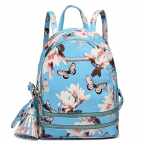 Dámský modrý batoh Magnolia 1707