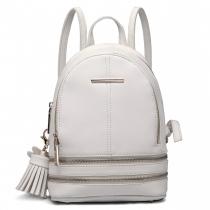 Dámský bílý batoh Geisha 1705