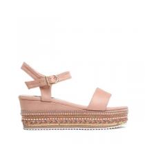 Dámské růžové sandály na platformě Giusy 2083