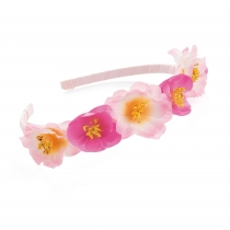 Růžová čelenka do vlasů Heda 31061