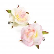 Dvě růžové sponky do vlasů Kelinda 31065