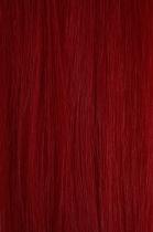 CLIP IN - spona 50 cm křiklavě růžová