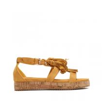 Dámské žluté sandály Kenya 7168