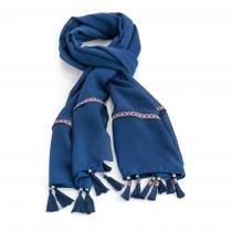 Dámský námořnicky modrý šátek Dori 31025