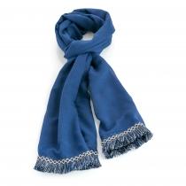 Dámský námořnicky modrý šátek Aztec 31026