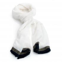 Dámský bílý šátek Illy 31015