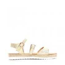 Dámské zlaté sandály Farida 3074