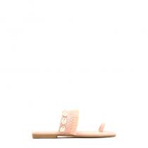 Dámské růžové pantofle Indiana 8224