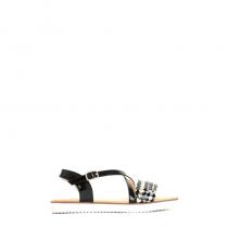 Dámské černé sandály Caroline 3066