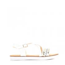 Dámské bílé sandály Caroline 3066