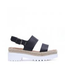 Dámské černé sandály Sanny 8242