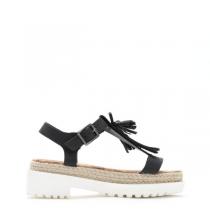 Dámské černé sandály Arménia 8266