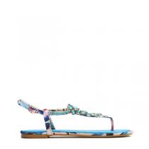 Dámské modré sandály Ibiza 7163