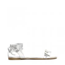 Dámské stříbrné sandály Hailee 6132