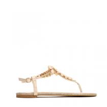 Dámské béžové sandále Larissa 7161