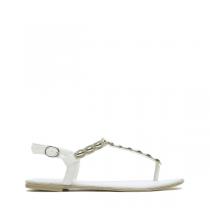 Dámské bílé sandály Donna 4090