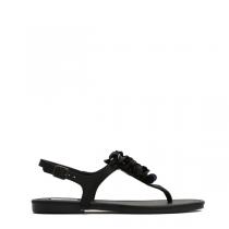 Dámské černé sandále Jovana 8236