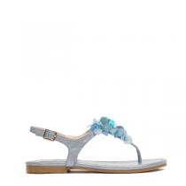Dámské modré sandále Jovana 8236