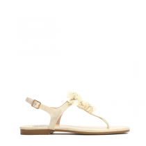 Dámské béžové sandále Jovana 8236