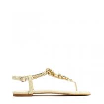 Dámské béžové sandály Queen 7164