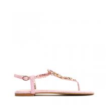 Dámské růžové sandály Queen 7164