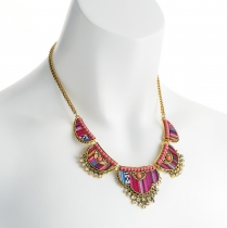 Barevný náhrdelník Zambezi 30944