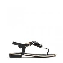 Dámské černé sandály Emma 9023