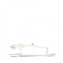 Dámské stříbrné sandály Marion 6109