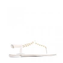Dámské bílé sandály Marion 6109