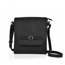 Dámská černá kabelka Menor 5153