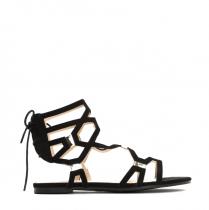 Dámské černé sandály Kimberly 1250