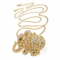 Náhrdelník ve zlaté Elephant 31139