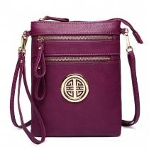 Dámská fialová kabelka Yasin 1417