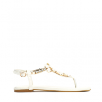 Dámské bílé sandále Larissa 7161
