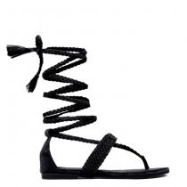 Dámské černé sandály Hannah 6123